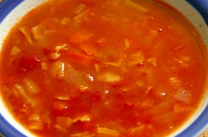 太らない夜食にはスープがオススメ