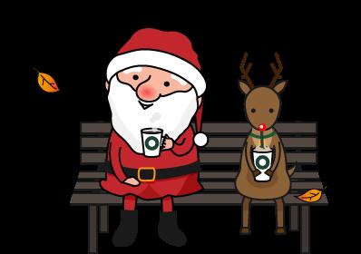 サンタさんのコーヒーブレイク