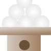 2013年の中秋の名月(十五夜)は9月19日!月見団子の積み方と供え方