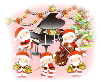 サンタさんの演奏会