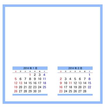 フォトフレームカレンダー