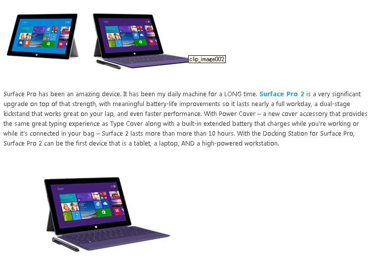 マイクロソフト、Surface 2, Surface Pro 2, new Surface Accessoriesを発表!