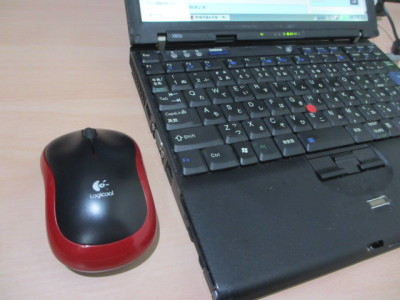 マウス左側