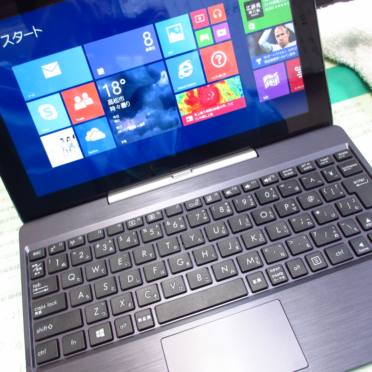 だって、安かったんだもの!「ASUS TransBook T100TA-DK32G」をつい買ってしまった!