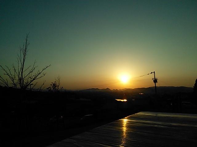 ネクサス7(2013)で夕焼けを撮影してみました。