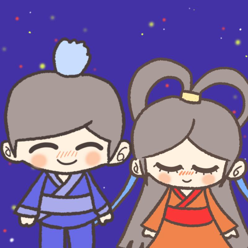 2015年版!彦星様♡織姫様のフリーイラスト素材集まとめ中