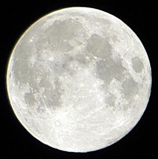 2013年9月19日 中秋の名月 ズームアップ版