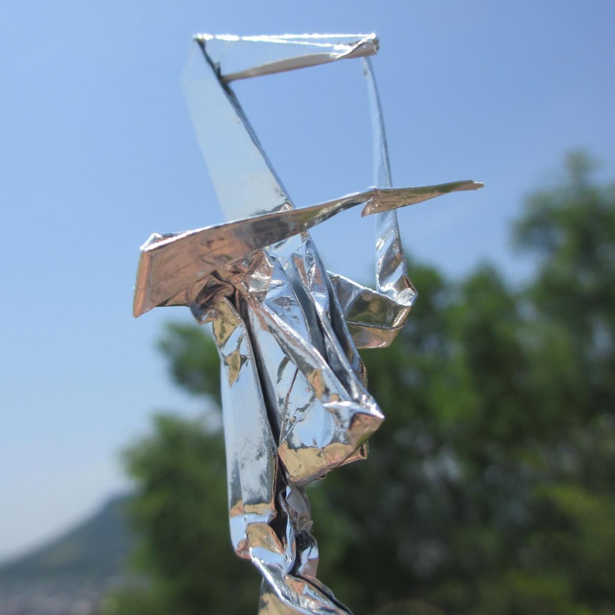 誰にでも簡単に出来る!足付き折り鶴の作り方(折り方)