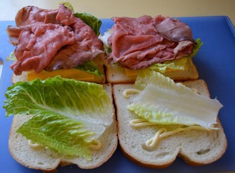 足成 サンドイッチ2