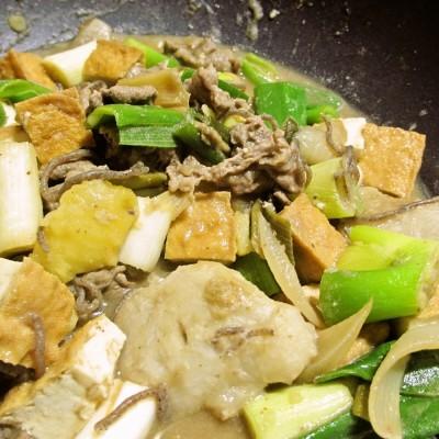 最近のヒットおかず!地味に美味いジャガイモと里芋のすき焼き風煮